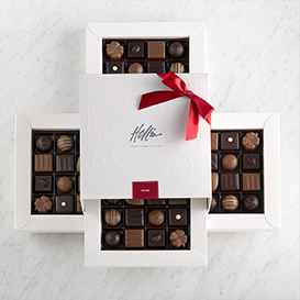 Deluxe Chocolates 64 piece box THUMBNAIL