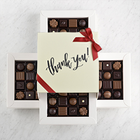 Deluxe Four Layer Thank You Gift Box THUMBNAIL