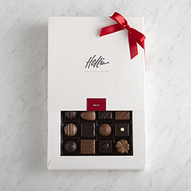 Deluxe Chocolates 16 piece box THUMBNAIL