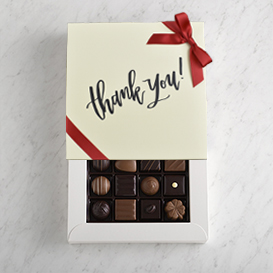 Deluxe One Layer Thank You Gift Box MAIN
