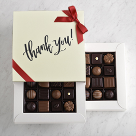 Deluxe Two Layer Thank You Gift Box THUMBNAIL