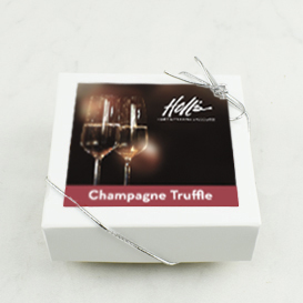 Four Piece Champagne Truffle Box Mini-Thumbnail