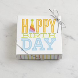 Four Piece Happy Birthday Gift Box Mini Thumbnail