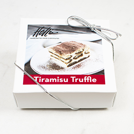 Four Piece Tiramisu Truffle Box Mini-Thumbnail