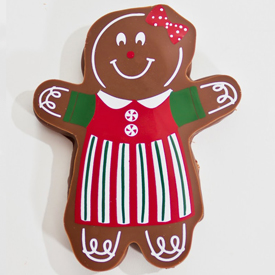 Chocolate Covered Gingerbread Girl