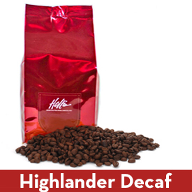 Highlander Grog Decaf Coffee