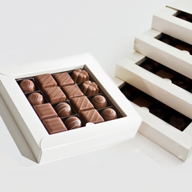 Milk Chocolate Four Layer Box