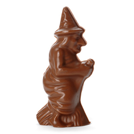 Solid Milk Chocolate Witch
