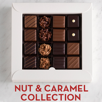 Nut and Caramel Chocolate Gift Box