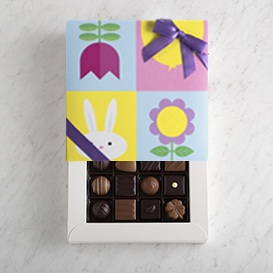 One Layer Deluxe Easter Chocolate Gift Box THUMBNAIL