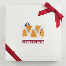 One Layer Pumpkin Pie Truffle Box MAIN