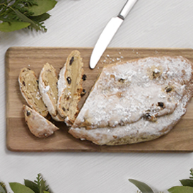 Stollen German Christmas Bread THUMBNAIL