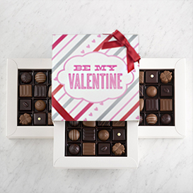 Deluxe Three Layer Valentine's Day Gift Box SWATCH