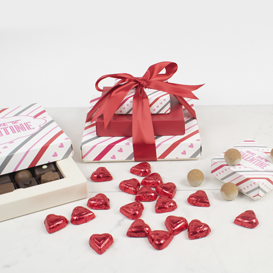 Three Tier Valentine's Day Chocolate Gift Tower THUMBNAIL