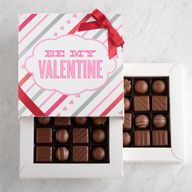 Milk Chocolate Two Layer Valentine's Day Gift Box SWATCH
