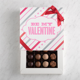 Valentine's Day Chocolate Truffle 16 piece box THUMBNAIL