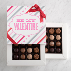 Valentine's Day Chocolate Truffle 32 piece box THUMBNAIL