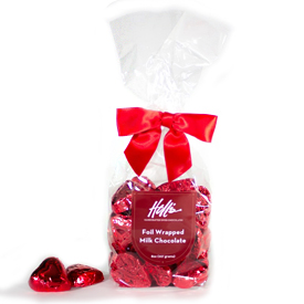 Foil Wrapped Milk Chocolate Valentine's Day Heart Gifts MAIN