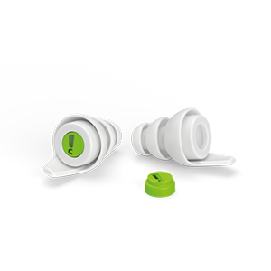 AudioNova Reusable Music Earplugs LARGE
