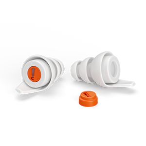 AudioNova Reusable Drive Earplugs LARGE