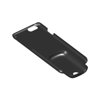 Picture of the hard case for the Phonak EasyCall wireless streaming accessory. THUMBNAIL