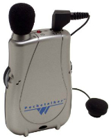 PocketTalker Ultra Personal Amplifier pictured. LARGE