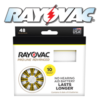 Rayovac Hearing Aid Batteries