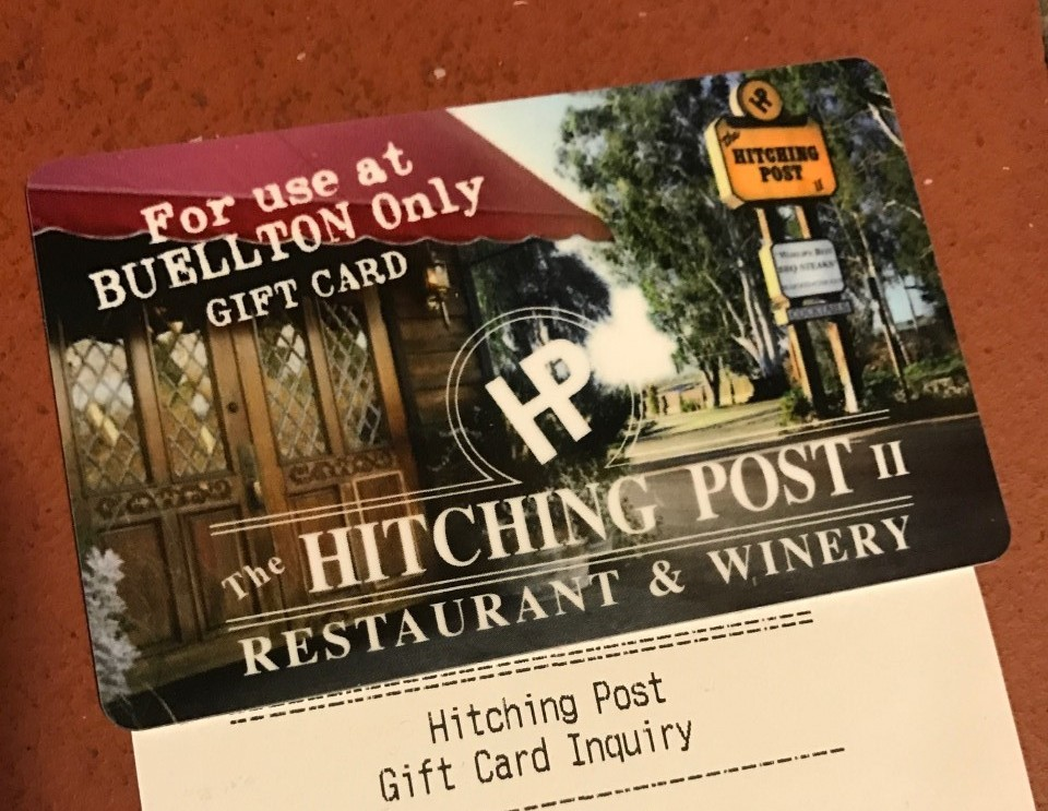 Hitching Post II Restaurant Gift Cards