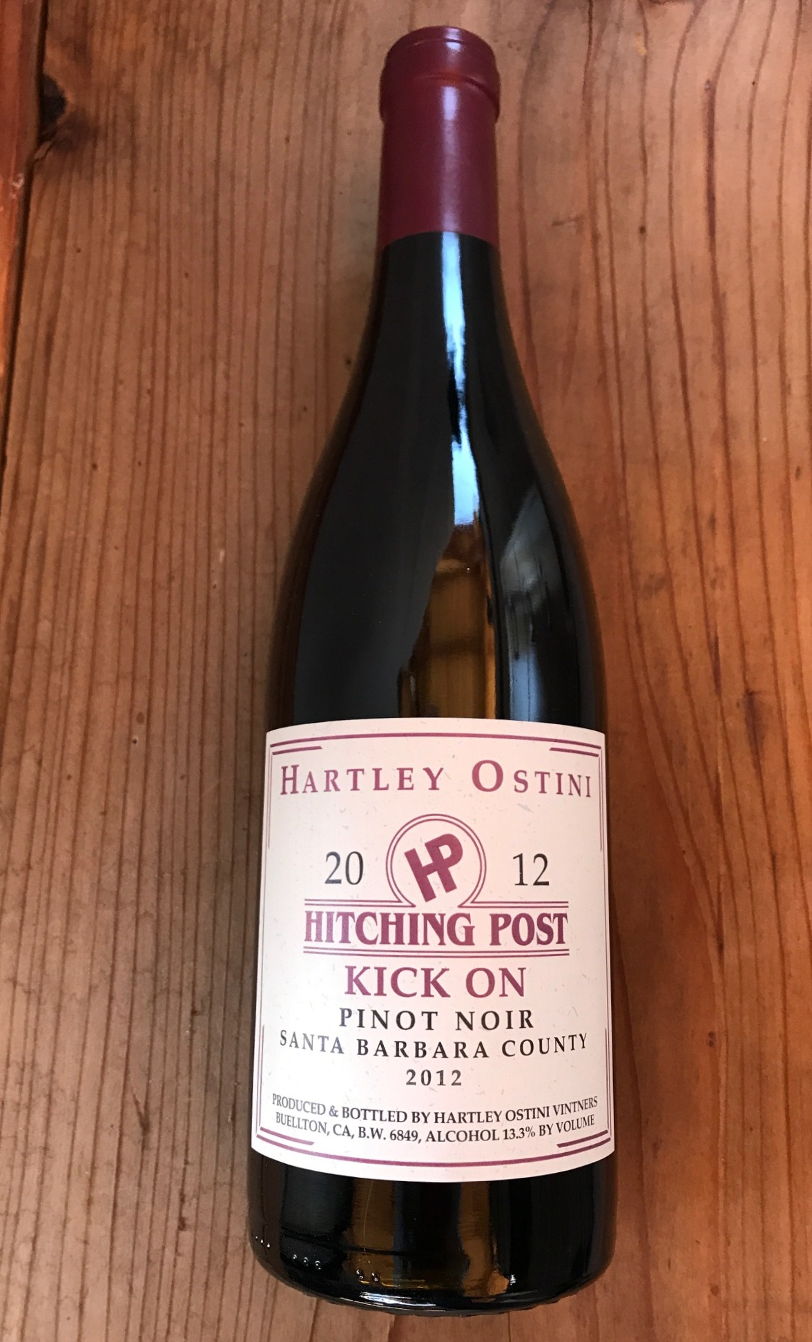 2017 Kick-On Ranch Pinot Noir THUMBNAIL