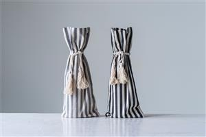 TM Striped Wine Bottle Bag MAIN