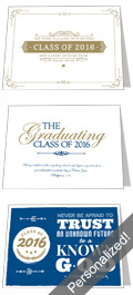 2016 Graduation Announcements — Personalized!