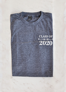 Class of 2020 T-shirt — COURAGE LARGE