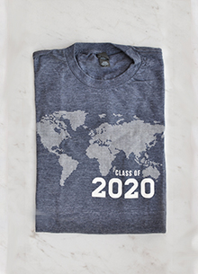 Class of 2020 T-shirt — Jim Elliot Quote LARGE