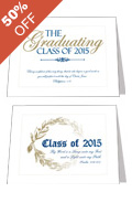 2015 Graduation Announcements