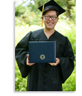 Graduation Package with Personalized Diploma