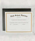 High School Diploma & Case THUMBNAIL