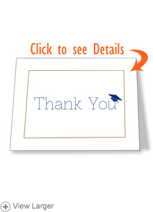 Thank-You Cards — Grad Cap | HSLDA Store