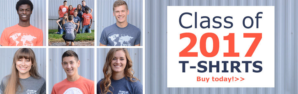 Class of 2017 T-shirts!
