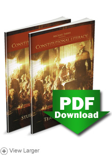 Constitutional Literacy Teacher's & Student Study Guides (First Edition) — PDF Download LARGE