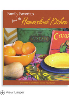Family Favorites from the Homeschool Kitchen LARGE