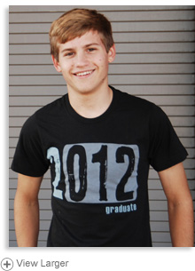Class of 2012 T-shirt — Guys