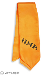 Gold Honor Stole LARGE