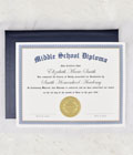 Home School Middle School Diploma THUMBNAIL