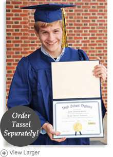 High School Graduation Package with Personalized Diploma LARGE