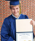 High School Graduation Package with Personalized Diploma
