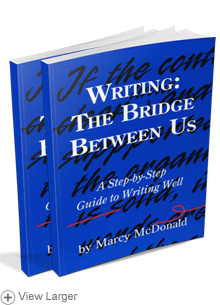 Writing: The Bridge Between Us (Combo Package)