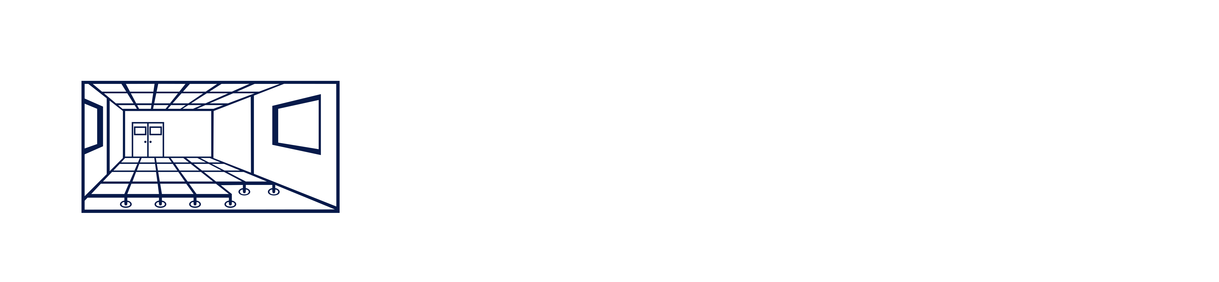 Hutchins & Hutchins Logo in all white