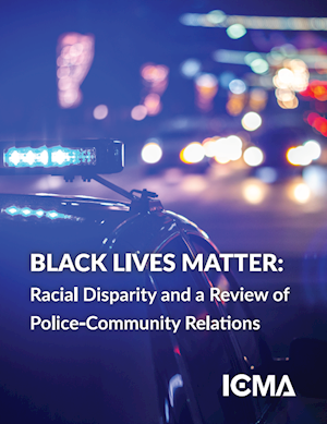 BLACK LIVES MATTER: RACIAL DISPARITY AND A REVIEW OF POLICE-COMMUNITY RELATIONS LARGE