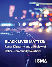 BLACK LIVES MATTER: RACIAL DISPARITY AND A REVIEW OF POLICE-COMMUNITY RELATIONS THUMBNAIL