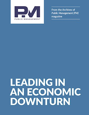 PM From the Archives: Leading in an Economic Downturn LARGE